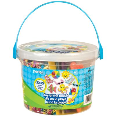 Perler Fused Bead Bucket Kit Day At The Beach - 80-42900