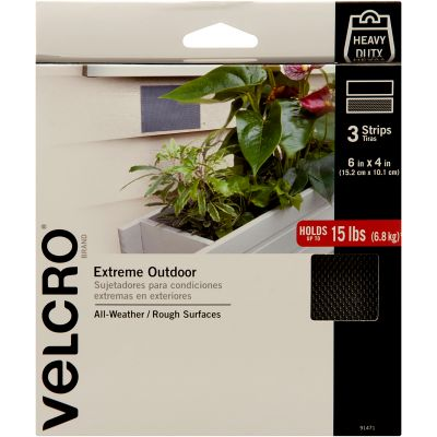 VELCRO(R) Brand Extreme Outdoor Strips 4