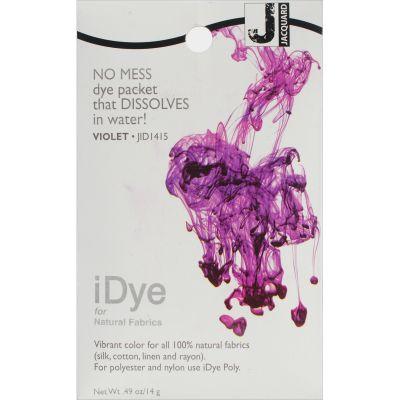 Jacquard Idye Fabric Dye 14G Violet - IDYE-415