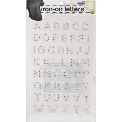 Dritz Iron On Letters Rhinestud 3/4