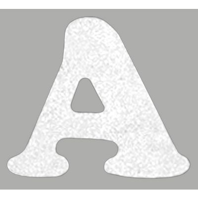 Dritz Iron On Letters Soft Flock  1.5