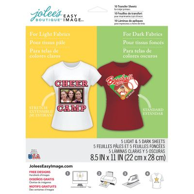 Jolee'S Easy Image Transfer Sheets 8.5