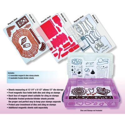 Zutter Magnetic Die & Stamp Storage Refill Sheets 3/Pkg 12.25