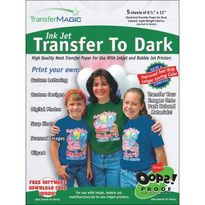 Transfer Magic Ink Jet Transfer Paper 8.5