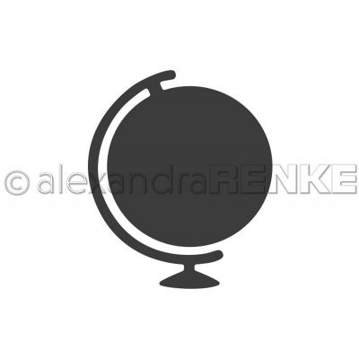 Alexandra Renke Dies Travel; World Globe - ART0014