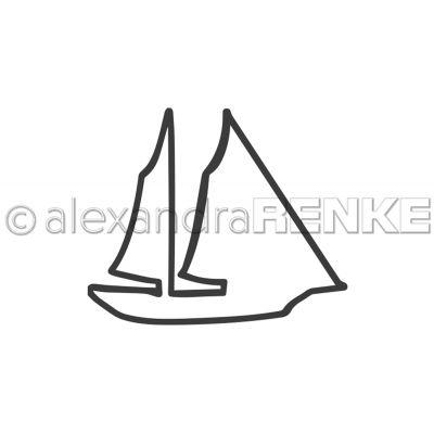 Alexandra Renke Dies Travel; Sail Boat - ART0002