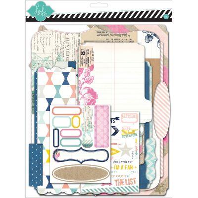 Heidi Swapp Memory Files Scrapbook Album Kit 9