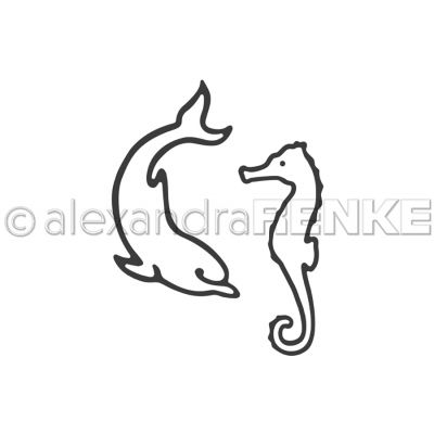 Alexandra Renke Dies Dolphin And Seahorse - ARTI0006