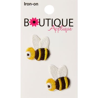 Blumenthal Iron On Appliques Bees 2/Pkg - A001300-230
