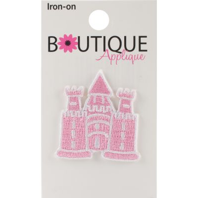 Blumenthal Iron On Appliques Ballet Slippers 1/Pkg - A01300A-237