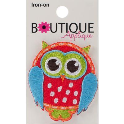 Blumenthal Iron On Appliques Owl 1/Pkg - A001300A-256