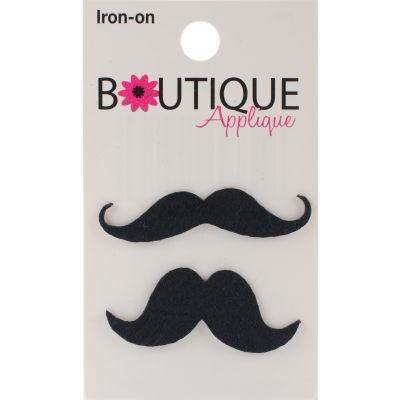 Blumenthal Iron On Appliques Mustaches 2/Pkg - A001300-259