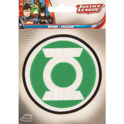 Wrights DC Comics Iron-On Applique-Green Lantern 3.5