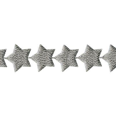 May Arts Star Banner Metallic Ribbon 1 1/2