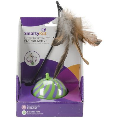 Smartykat Featherwhirl Electronic Motion Ball Toy  - 9621