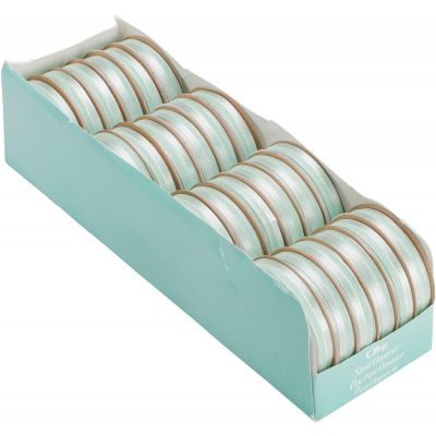 Offray Sheer Elegance Boxed Ribbon Assortment 24/Pkg Mint - 69225524