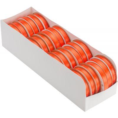 Offray Spool O' Ribbon Woven Edge Solid Assortment 24/Pkg Autumn Orange - AE329504