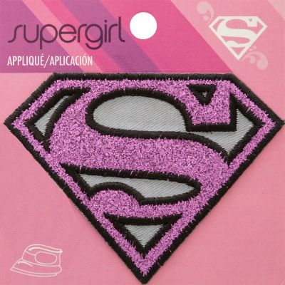Wrights Dc Comics Iron On Applique Supergirl - 193 9886