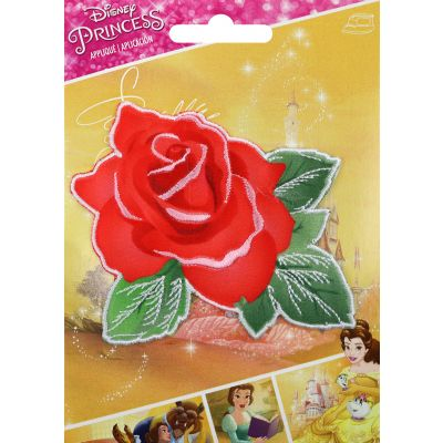 Wrights Disney Princess Iron On Applique Beauty & The Beast Rose - 193 2019