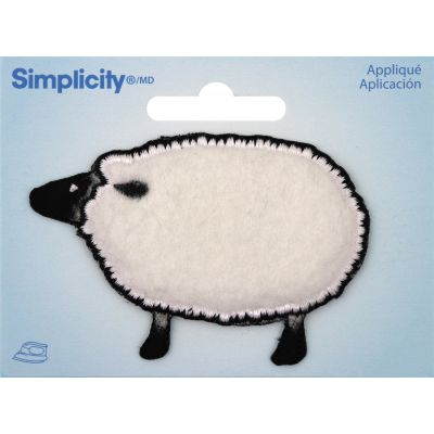 Wrights Iron On Applique Sheep - 193 9760