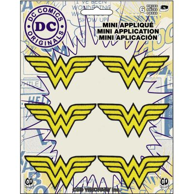C&D Visionary Dc Comics Patch Wonder Woman Insignia 6/Pkg 1