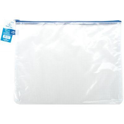 Blue Hills Studio Mesh Bag W/Zipper 12