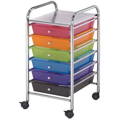 Storage Cart W/6 Drawers 13