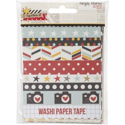 Say Cheese Ii Washi Paper Tape 3