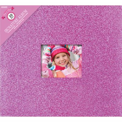 Colorbok Post Bound Glitter Album 12