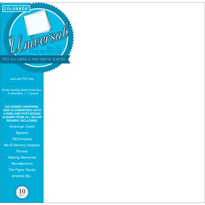 Colorbok Universal Refill Pages 12