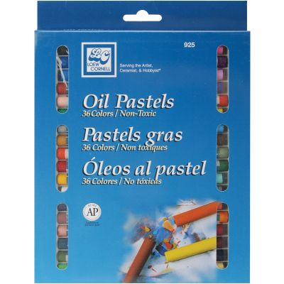 Oil Pastels 36/Pkg Assorted Colors - 925