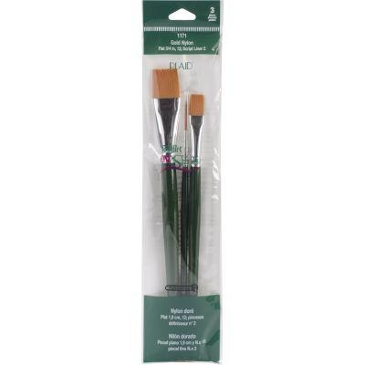 One Stroke Brush Set 3/Pkg - 1171