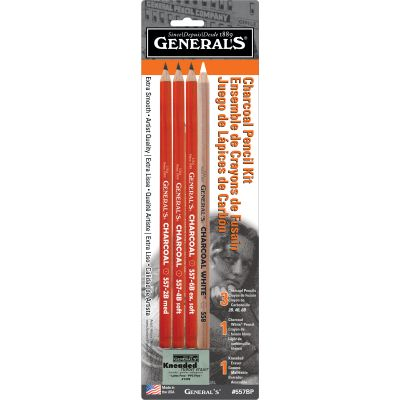 Charcoal Pencil Kit 5Pcs  - 557BP