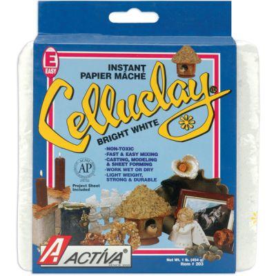 Celluclay Instant Paper Mache 1Lb Bright White - 203