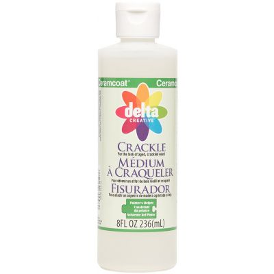 Ceramcoat Painters Helper Crackle Medium 8Oz - 7009-8