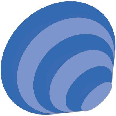 Kaisercraft Nesting Dies 6/Pkg Ovals 1.5