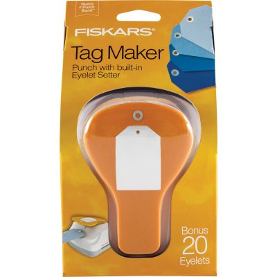 Fiskars Tag Maker Punch Simple - TMP-7510