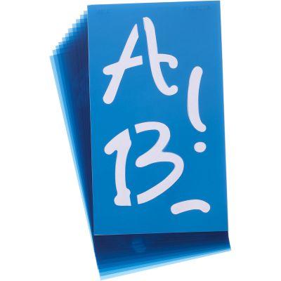 Alphabet Stencils 100/Pkg Angelina Script 4