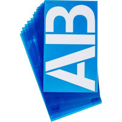 Alphabet Stencils 150/Pkg Helvetica 6