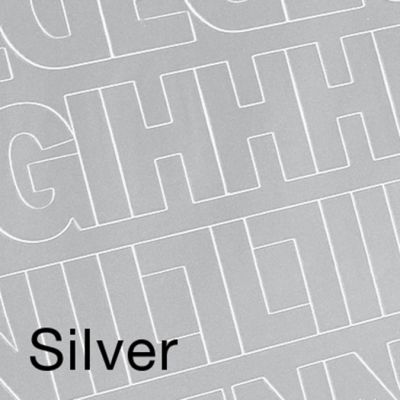 Permanent Adhesive Vinyl Letters & Numbers .5