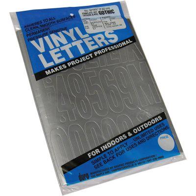 Permanent Adhesive Vinyl Letters & Numbers 3
