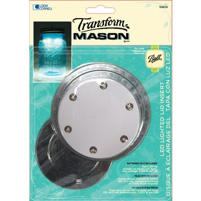 Transform Mason(R) Led Lid Dual Pack  - 1024256