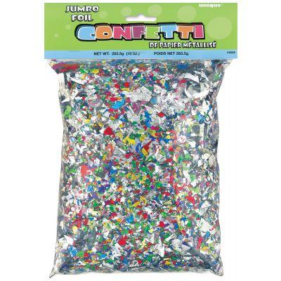 Jumbo Foil Confetti 10Oz Multicolor - 9069
