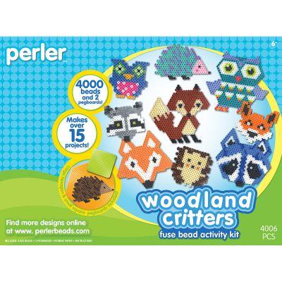 Perler Fused Bead Kit Woodland Critters - 80-54172
