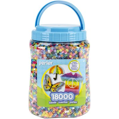 Perler Fused Beads 18,000/Pkg Multicolor - 80-17014