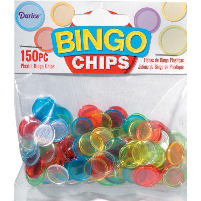 Plastic Bingo Chips 150/Pkg  - 1096-68
