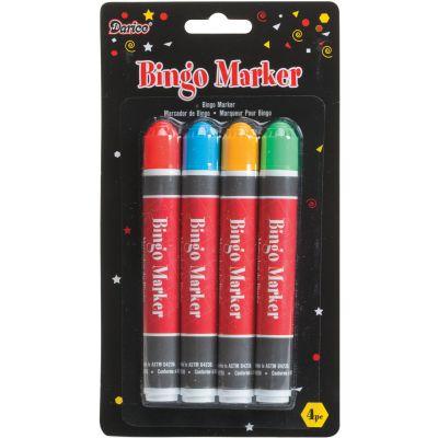 Bingo Markers 4/Pkg  - 5301-87