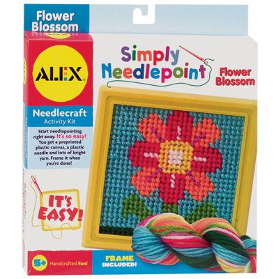 Simply Needlepoint Kit Flower - 395-F