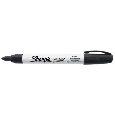 Sharpie Medium Point Oil Based Opaque Paint Marker Black - 35549