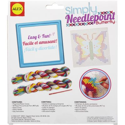 Simply Needlepoint Kit Butterfly - 395-B